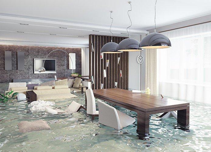 Water Flood in Condo Building